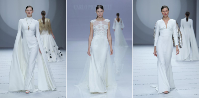 Barcelona Bridal Fashion Week - algumas propostas para 2019